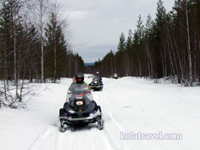 kolatravel snowmobile safaris murmansk region saami